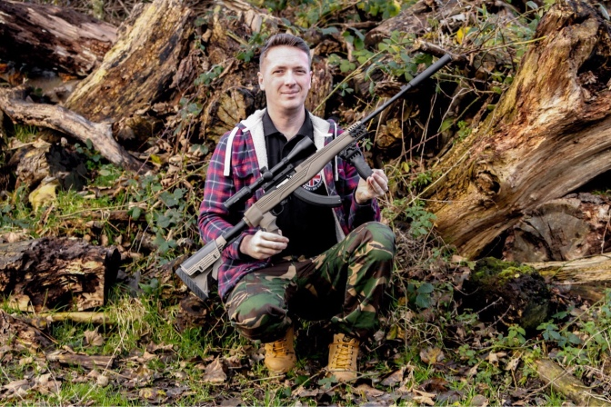 Me with my Ruger 10/22