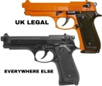 IN BRITAIN TOY GUNS CAN EQUAL PRISON